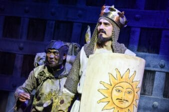 Dale Superville Bob Harms Spamalot Photo Robert Day